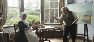 Bailey, with Timothy Spall, in Mr Turner