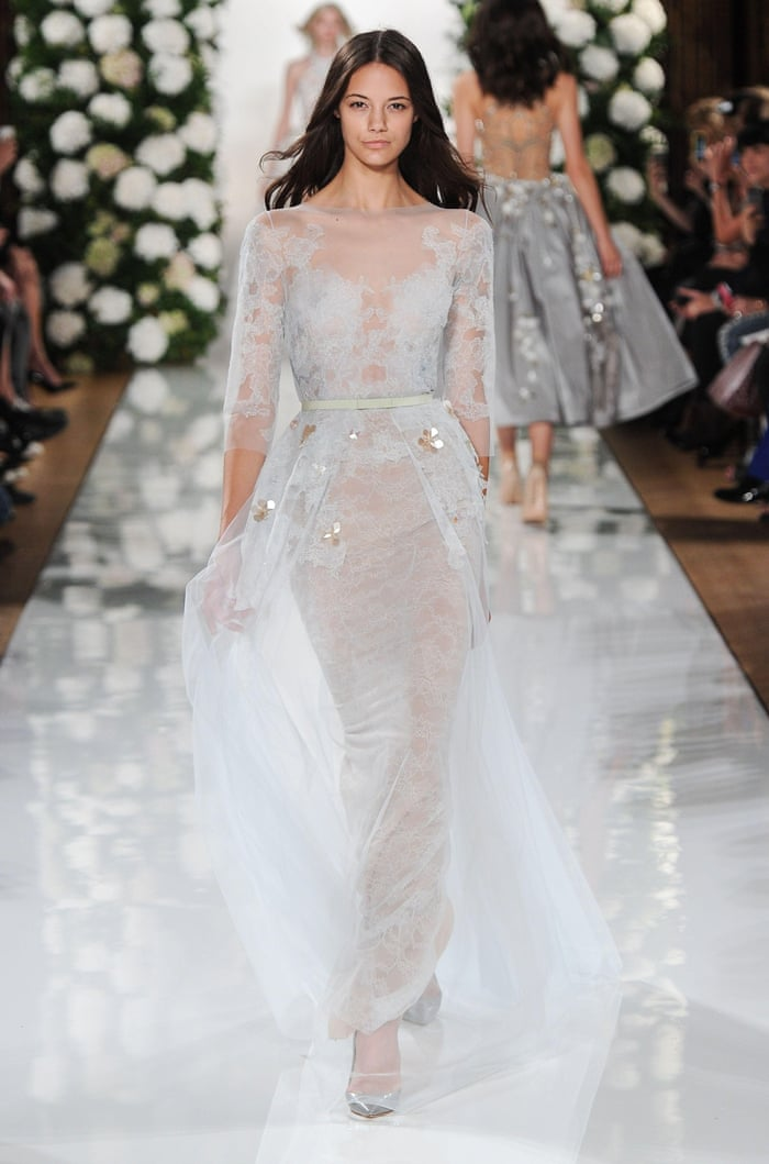 Wedding Dress Inspiration From The Spring Summer 2015 Shows In Pictures Fashion The Guardian
