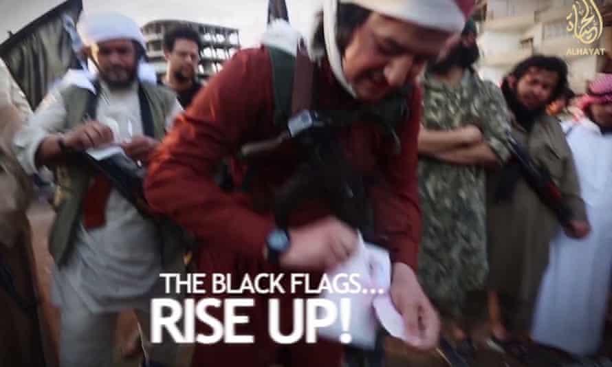 An Isis recruitment video