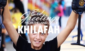 The Isis film Eid Greetings from the Land of Khilafah