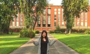 Xiaoyu Song at the University of Birmingham