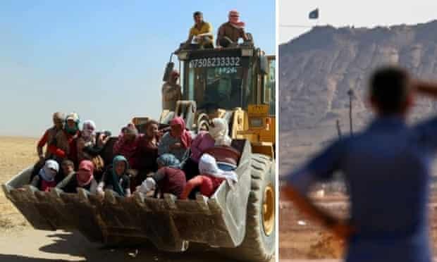 mount sinjar v kobani