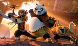 A welcome email sent to students addressed recipients as Kung Fu Panda.