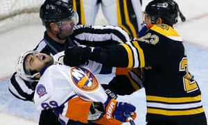 NHL: Bruins take on the Islanders in preseason.