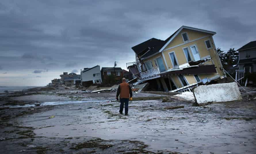 New Yorkers living along the coast wanted to rebuild their homes after Sandy rather than move away.