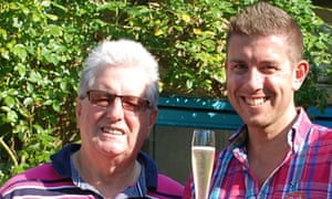Ray Cole, pictured with his son Adrian