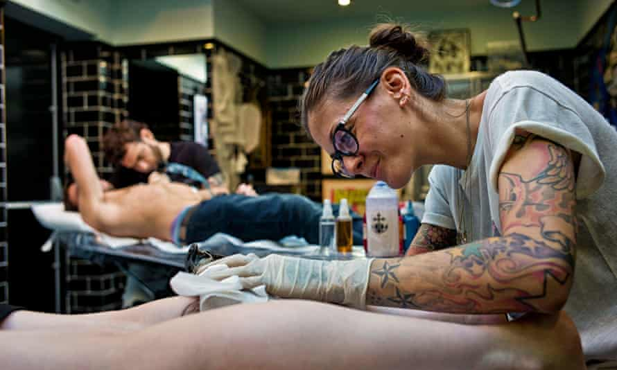 Tattoo parlour, Exmouth Market