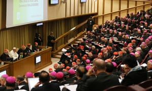 The synod in session.