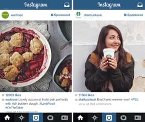 Instagram ads UK