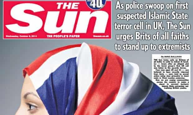 Sun newspaper 10 Oct 14