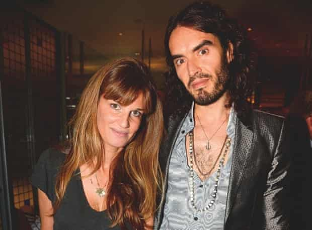 Russell Brand with Jemima Khan