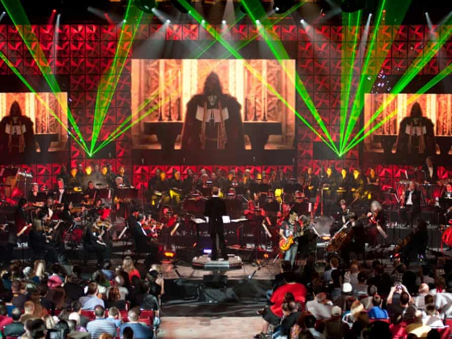 The Video Games live orchestra in action.