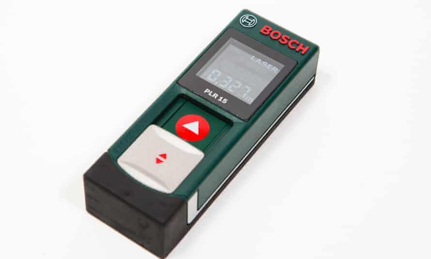 Bosch laser measuring device.