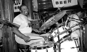 Bernard Purdie performing with his band at the Lone Star Cafe in New York City