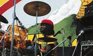 Drummer Sly Dunbar