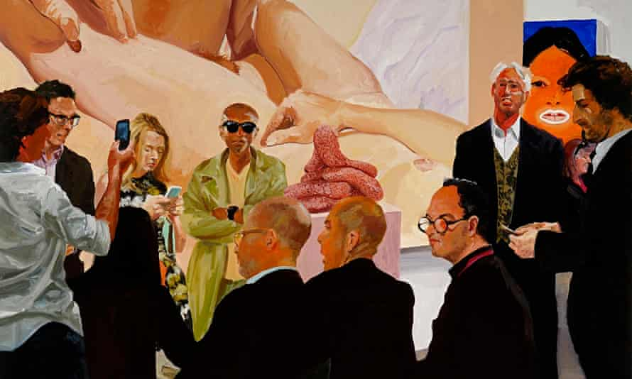Art Fair Booth #4 The Price from the forthcoming exhibition by Eric Fischl.