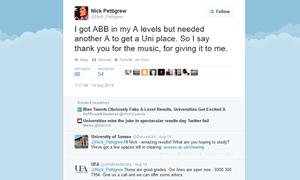 Nick Pettigrew twitter