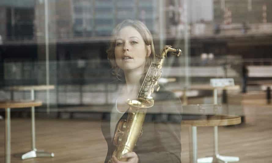 Saxophonist Tineke Postma