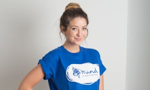 Zoella will be a digital ambassador for mental health charity Mind.