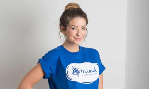 Zoella will be a digital ambassador for mental health charity Mind.