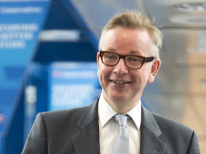 Michael Gove, looking out for another meeting to invite himself to.
