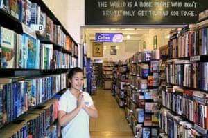 Cambodia bookshop