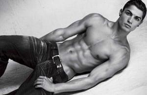 Cristiano Ronaldo: the epitome of the 'spornosexual'.