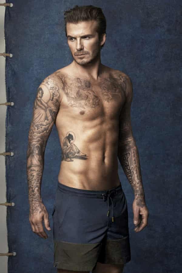 David Beckham: the narcissist's narcissist.