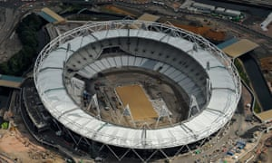 Aerial Views Of The 2012 Olympic Park