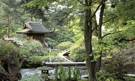 The Shinto Temple in the Japanese Garden at Tatton Park