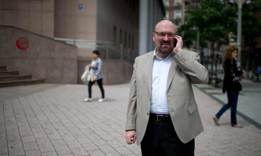 Mario Costeja Gonzalez, who won the right to be forgotten in European courts last year.