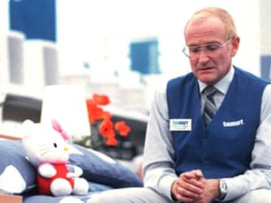 Robin Williams in One Hour Photo.