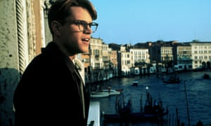 Matt Damon in The Talented Mr Ripley