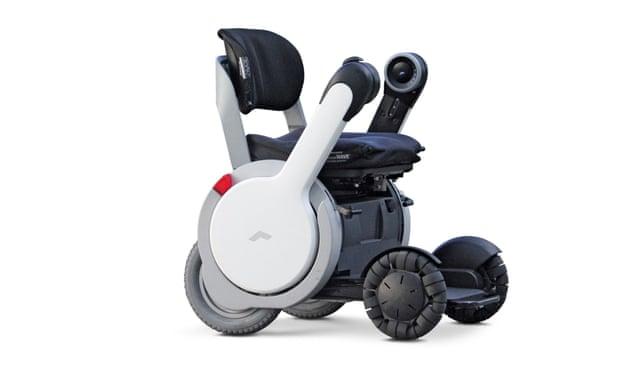 Whill wheelchair design omniwheels