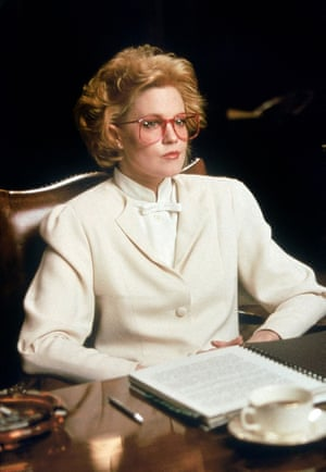 MELANIE GRIFFITH Character(s): Tess McGill in WORKING GIRL