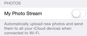icloud photo privacy screengrab