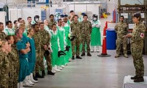 Army Field Hospital Trains For Ebola Deployment To Sierra Leone