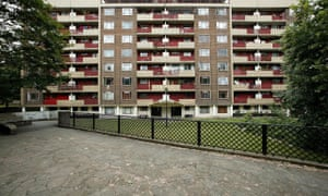 Spa Green housing estate in Clerkwell