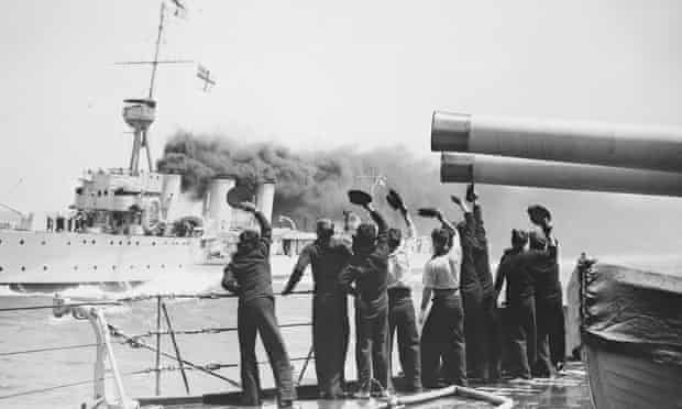 The Battles of Coronel and Falkland Islands navy sailors