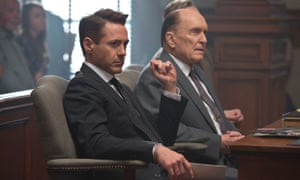 In need of counsel ... Robert Downey Jr and Robert Duvall in The Judge