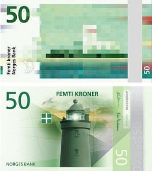 Norway new design 50 kroner