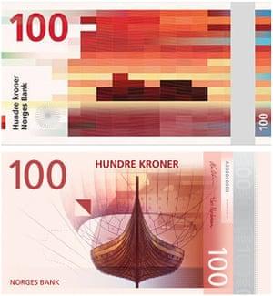 Norway new design 100 kroner