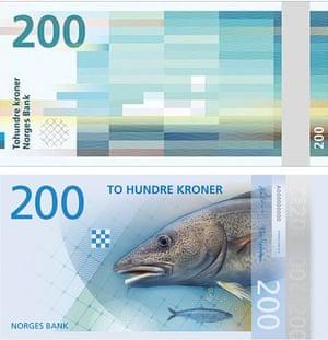 Norway new design 200 kroner