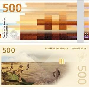 Norway new design 500 kroner