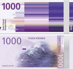 Norway new design 1000 kroner