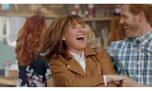 Lorraine Kelly fronts a TV advert for JD Williams
