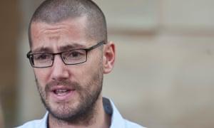 British Ebola survivor and nurse Will Pooley.