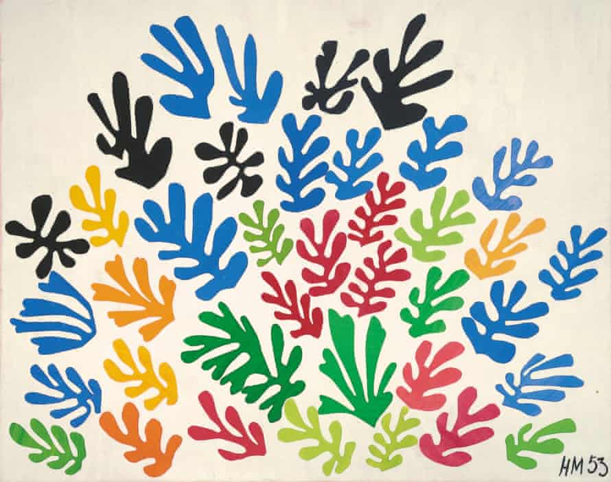 Matisse cut-outs The Parakeet and the Mermaid