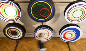 A piece by Gavin Turk is part of the Marcel Duchamp exhibition.