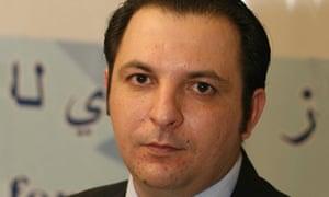 The activist Mazen Darwish